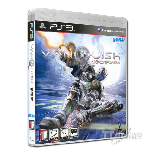 PS3 뱅퀴시 (영문/일본어판) / Vanquish