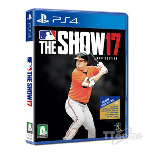 PS4 MLB The Show 17 - MVP 에디션 (영문판)