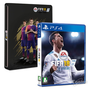 PS4 FIFA18 - 스틸북 에디션 / 피파18